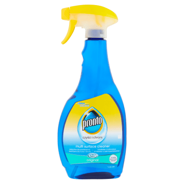 Rozpylacz do czyszczenia różnych powierzchni – Pronto. Produkt ułatwiający codzienne porządki w domu.