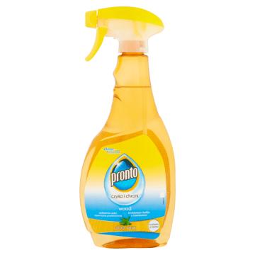 Płyn do czyszczenia - Pronto. Czyszczenie powierzchni drewnianych nigdy nie było łatwiejsze.