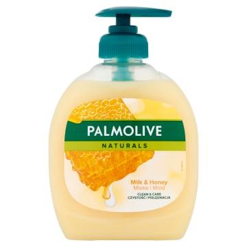 Mydło w płynie Mleko i Miód 300ml - Palmolive Naturals. Doskonale nawilża i koi.
