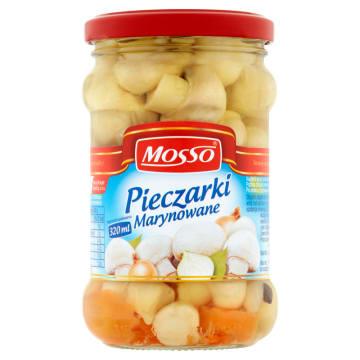 Pieczarki marynowane Mosso idealne do koreczków i kanapek.