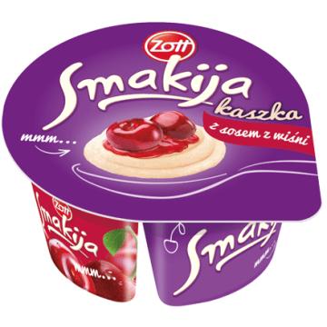 Kaszka manna - ZOTT Smakija. Zdrowa, słodka przekąska.