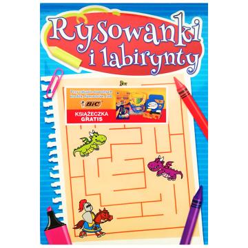 BIC Książeczka dla dzieci RYSOWANKI I LABIRYNTY 1szt