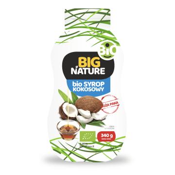 BIG NATURE Syrop kokosowy BIO 335g