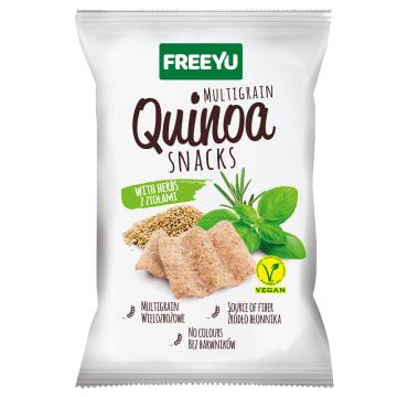 QUINOA Snacks z ziołami 70g