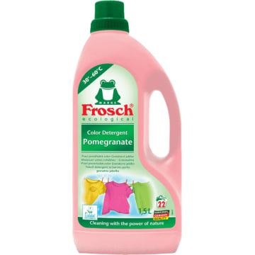 Płyn do prania tkanin kolorowych- Frosch.