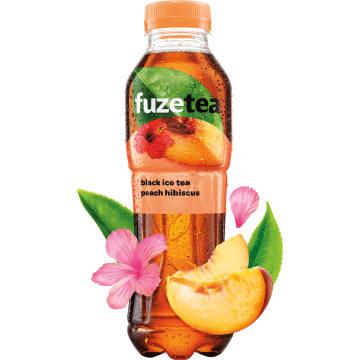 FUZETEA Napój o smaku brzosk. z ekstraktem z czarnej herbaty i hibiskusa 500ml