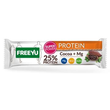 FREEYU PROTEIN Baton białkowy kakaowy z inuliną 40g