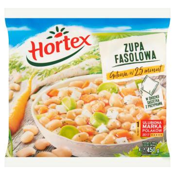 Zupa fasolowa z boczkiem - Hortex. Pyszny posiłek, który można przyrządzić ekspresowo.