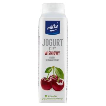Jogurt ppitny Milkoto źródło białka w wygodnej do przyswojenia formie płynnej.
