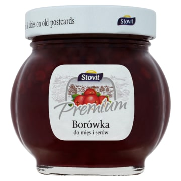 STOVIT Premium Borówka do mięs i serów 250g