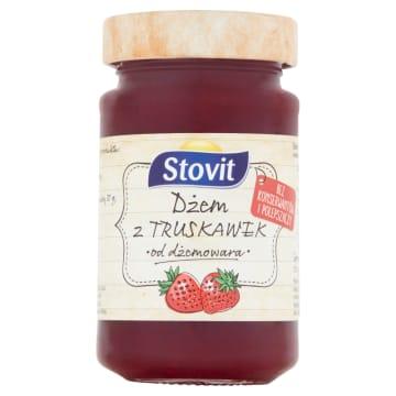STOVIT Dżem z truskawek niskosłodzony 260g
