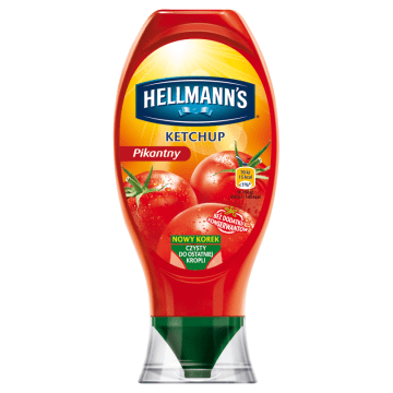 HELLMANNS Ketchup pikantny 450g