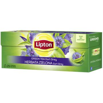 LIPTON Herbata zielona Earl Grey 25 torebek 40g