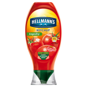 HELLMANNS Ketchup łagodny 450g