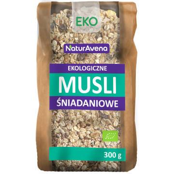 NATURAVENA Musli śniadaniowe BIO 300g