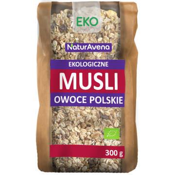 NATURAVENA Musli owoce polskie BIO 300g