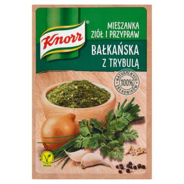 KNORR Mieszanka ziół i przypraw bałkańska z trybulą 13g