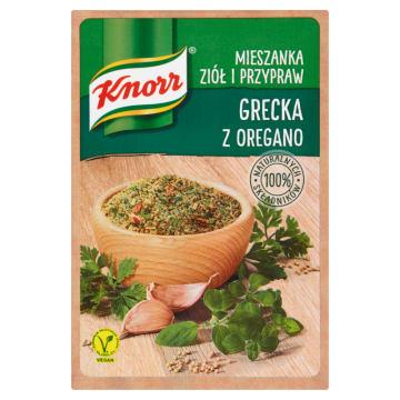 KNORR Mieszanka ziół i przypraw grecka z oregano 13g