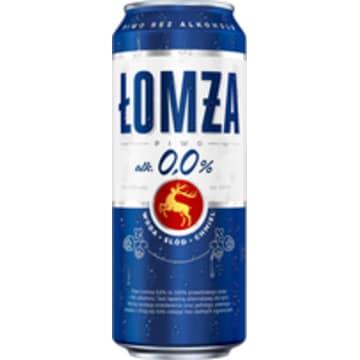 ŁOMŻA Piwo bezalkoholowe 4x500ml 2l