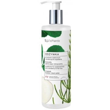 VIS PLANTIS Odżywka do włosów osłabionych z tendencją do wypad. - KOZIERADKA 400ml