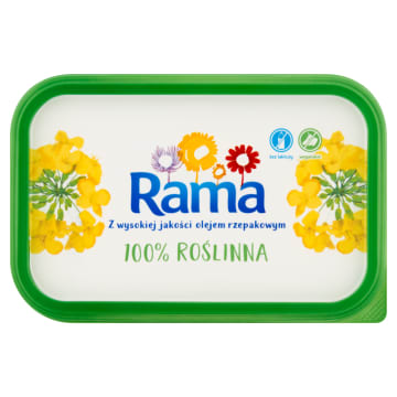 RAMA Margaryna 100% roślinna 450g
