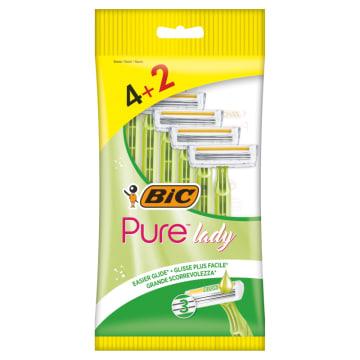 BIC Pure 3 Lady Maszynka jednoczęściowa do golenia 6 szt. 1szt
