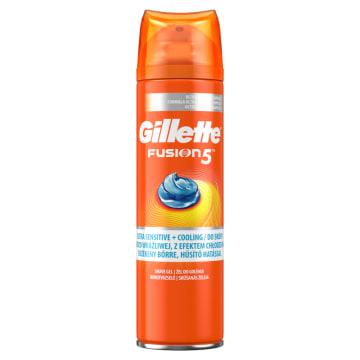 GILLETTE Fusion5 Żel chłodzący do golenia 200ml