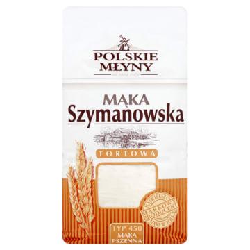 POLSKIE MŁYNY Mąka Szymanowska pszenna tortowa typ 450 1kg