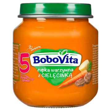 BOBOVITA Zupka Warzywna z cielęciną - po 5 miesiącu 125g