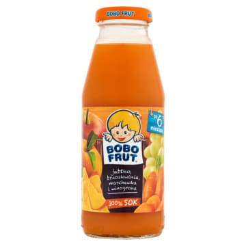 Bobo Frut - Sok owocowy po 6. miesiącu. Zdrowy i smaczny napój dla dzieci.