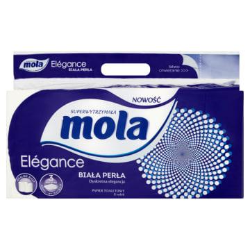 Papier toaletowy Biała Perła– Mola starcza naprawdę na długo.