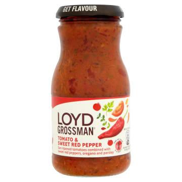 LOYD GROSSMAN Sos pomidorowy ze słodką papryką 350g