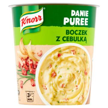 Puree ziemniaczane z boczkiem i cebulką - Gorący Kubek - Knorr