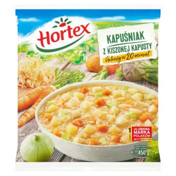 Hortex - Kapuśniak z kapusty kiszonej mrożony. Tradycyjna polska zupa z najlepszych składnikow.
