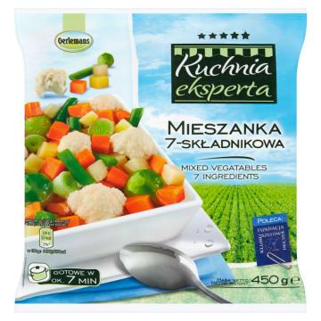 Mieszanka warzywna 7-składnikowa - Oerlemans jest zdrowa i świetne smakuje.