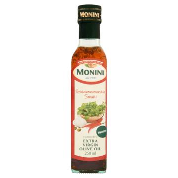 Oliwa z oliwek Monini doskonale nada się jako dodatek do pizzy i nie tylko. Nadaje wyjątkowy smak.