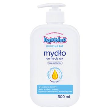 BAMBINO RODZINA Mydło do mycia rąk hipoalergiczne 500ml