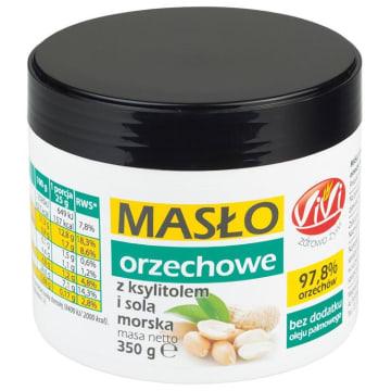 VIVI Masło orzechowe z ksylitolem i solą morską 350g