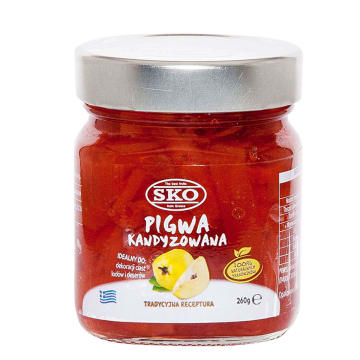 SKO Pigwa kandyzowana 260g
