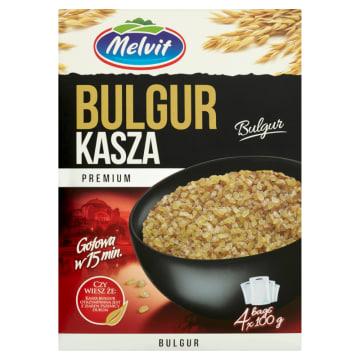 MELVIT Premium Kasza bulgur (4x100g) 400g