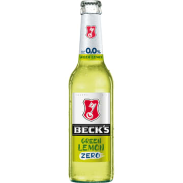 BECK'S ZERO Piwo bezalkoholowe Green Lemon 330 ml