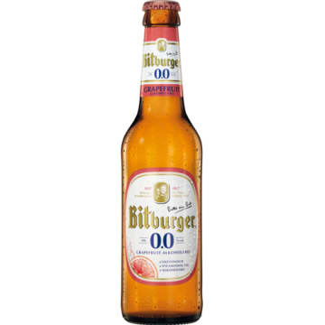 BITBURGER Piwo bezalkoholowe Grapefruit 330 ml