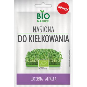 BIONATURO Nasiona do kiełkowania lucerna BIO 25g
