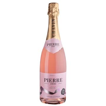 PIERRE Wino różowe musujące bezalkoholowe 750ml