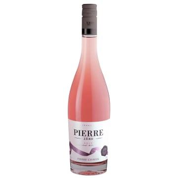 PIERRE Wino różowe półwytrawne bezalkoholowe 750ml