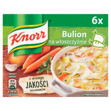 Bulion na włoszczyźnie w kostkach - Knorr