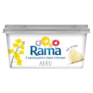 Rama Aero - Margaryna półtłusta. Doskonale komponuje się z każdym pieczywem.