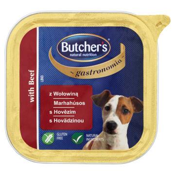 BUTCHER'S Gastronomia Karma dla dorosłych psów z wołowiną 150g
