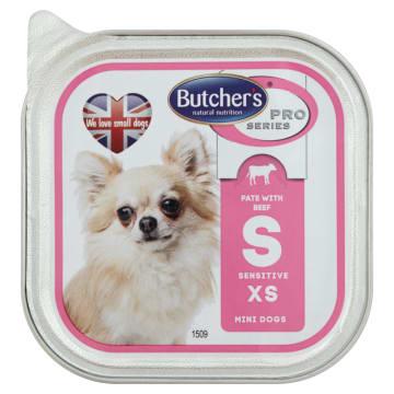 BUTCHER'S PRO SERIES Karma dla dorosłych psów pasztet z wołowiną i ryżem 100g
