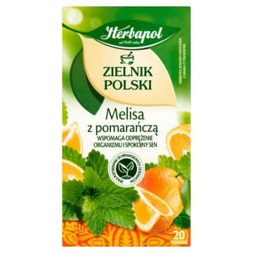 Owoce i Zioła - Melisa z Pomarańczą - Herbapol
